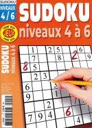 PJ Sudoku niveaux 4 à 6