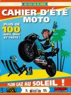 Cahier d'été Moto