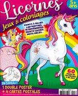 Licornes Jeux & Coloriages