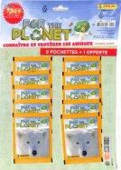 For the Planet Panini 9 pochettes + 1 Offerte