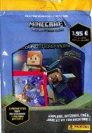 Minecraft Album Panini + 4 Pochettes