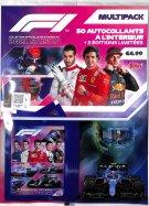 F1 Stickers MultiPack 2021 Saison