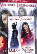Coffret 2 Films Héroïnes Légendaire :  Mulan / Le Sorcier et le serpent blanc