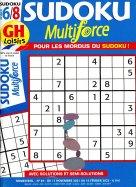 GH Sudoku Multiforce Niveau 6 - 8