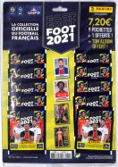 Panini Pack Album + 10 Pochettes Sticker Ligue 1/2 Football 2021
