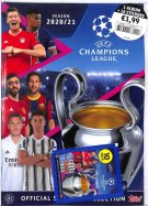 Uefa Champions League Topps Album + Sticker