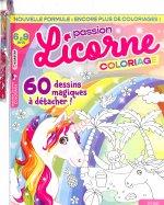 MG Passion Licorne Coloriage 6 à 8 ans