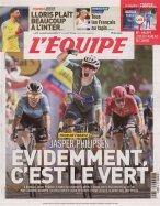 L'Equipe Samedi + Supplément Equipe Magazine + France Football