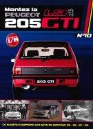 Construisez la Mythique Peugeot 1.9 205 GTI Sets de montage 25-26-27-28