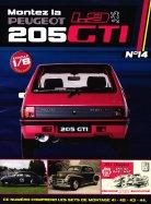 Construisez la Mythique Peugeot 1.9 205 GTI Sets de Montage 41-42-43-44
