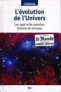 L'Evolution de l'Univers