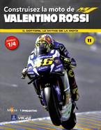 Construisez la Moto de Valentino Rossi