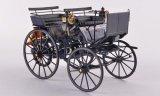 Mercedes Daimler Motorkutsche, bleu foncé - 1886