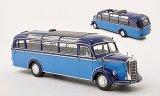 Mercedes O 3500 Bus, bleu clair/bleu - 1950