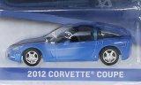 Chevrolet Corvette Coupe, metallic-bleu/noir - 2012
