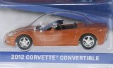 Chevrolet Corvette Convertible, metallic-orange - 2012