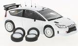 Citroen C4 WRC, blanche - 2010