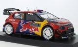 Citroen C3 WRC, No.1, Red Bull / Total, WRC, Rallye Monte Carlo - 2019