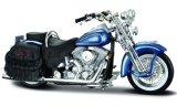 Harley Davidson FLSTS Heritage Softail Springer, blau - 1999
