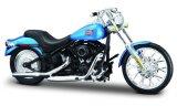 Harley Davidson FXSTB Night Train, metallic-bleu - 2002