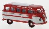 VW T1b Samba, rot/gris clair - 1960