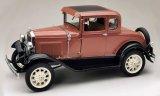 Ford Model A Coupe, brun/noir - 1931