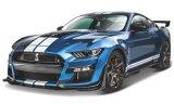 Ford Mustang Shelby GT500, metallic-bleu/blanc - 2020