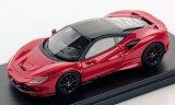 Ferrari F8 Tributo, metallic-rot/noire - 2019