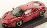 Ferrari SF90 Stradale, metallic-rouge
