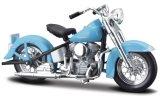 Harley Davidson 74FL Hydra Glide, bleu clair - 1953