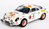 Alpine Renault A110, No.4, Tuning G.T.L., Rallye Ypres - 1974