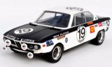 BMW 2800 CS (E9), No.19, BMW Alpina, 24h Spa Francorchamps - 1971
