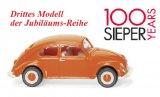 VW Brezelkäfer, orange
