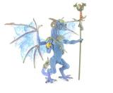 Le Dragon Sorcier violet